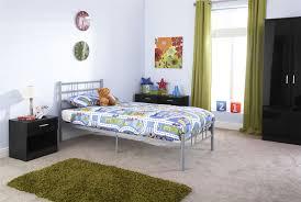 4ft Bed Frame Metal Bedstead Sturdy Modern Bed Frame Silver 3ft 4ft 4ft6