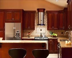 black glass backsplash neutral kitchen rug white purple