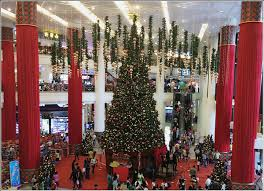 berjaya times square decor tree decor in