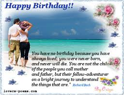 birthday greetings for lover birthday greetings for lover