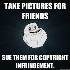 Meme Copyright - copyright infringement meme social media la
