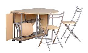 Folding Table With Chairs Stored Inside Amazing Folding Table With Chairs Stored Inside 20 Drop Leaf Table