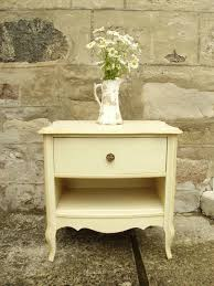 Traditional Nightstands Vintage French Glam Bedside Table Traditional Nightstands And