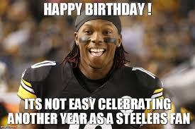 Funny Steelers Memes - steelers fan birthday card imgflip