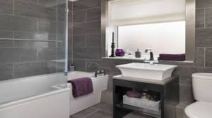 fancy grey tile wood floor with wonderful bathroom 1280x720