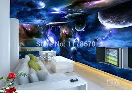 Galaxy Themed Bedroom Moon Ceiling Sticker Galaxy Themed Room
