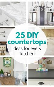 how to fit a kitchen cheaply 25 amazing diy countertops you can make for cheap lovely etc