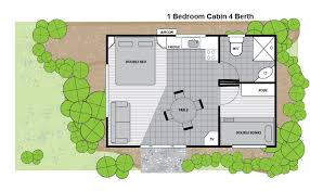 Small One Bedroom House - melbourne budget accommodation melbourne big4 holiday park best