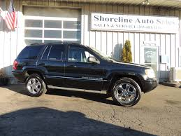 2004 jeep grand cherokee overland shoreline auto sales