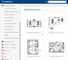 evacuation floor plan template fire escape plan maker free online app templates download
