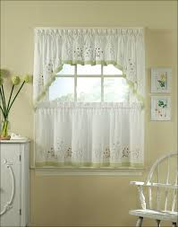 Grommet Kitchen Curtains Kitchen Adorable Yellow Curtain Green Yellow Tan Country Plaid