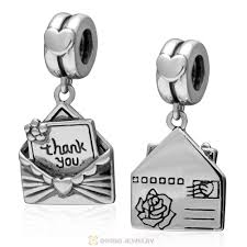 sterling silver european bead bracelet images 925 sterling silver thank you envelope dangle charm european beads jpg