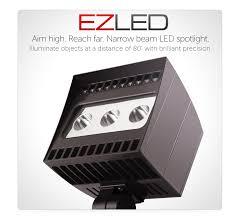 78 watt led spotlight ezled rab lighting