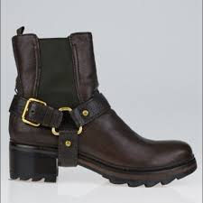 moto boots sale prada shoes sale leather motorcycle boots unisex poshmark