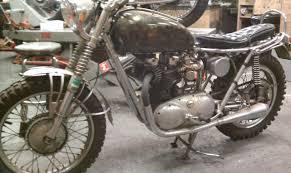 triumph motocross bike 1962 triumph bonneville dirt bike