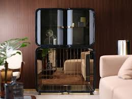 Glass Bar Cabinet Madison Bar Cabinet Madison Collection By Turri