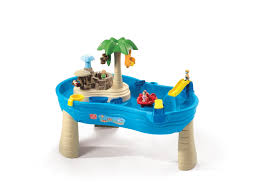water table for 1 year old amazon com step2 tropical island resort toys games summer toys