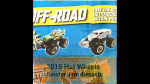 monster jam 2015 trucks 2015 wheels monster jam diecasts dragon u0026 ice cream man youtube