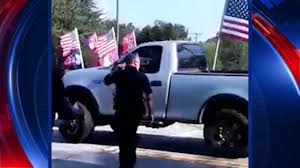 Confederate Flag Pickup Truck Raw Video Of Confederate Flag Rally Birthday Party Goers Clashing