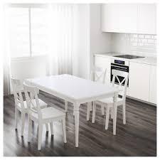 ingatorp extendable table white 155 215x87 cm ikea