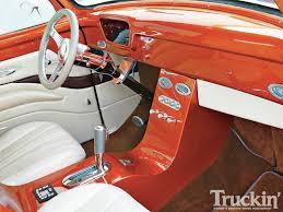 Vintage Ford Truck Steering Wheel - 1954 ford f 100 60 year itch classic truck truckin u0027 magazine