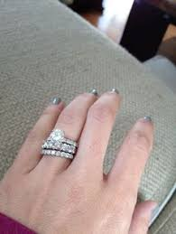 anniversary wedding band neil engagement ring and wedding band home