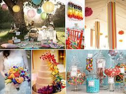 couleur mariage tableau multicolore 4 inspirations wedding