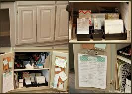 kitchen office organization ideas easy kitchen cabinet mini office organize mini office