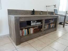 meuble tv bas en bois massif – Artzein