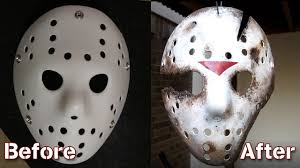 Jason Halloween Mask by How To Make A Friday The 13th Part 9 Jason Goes To Hell Jason