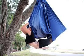quick ship navy aerial yoga hammock