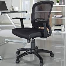 amazon com leo task mesh office chair with height