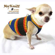 harness puppy sweater d ring chihuahua vest cat kittens
