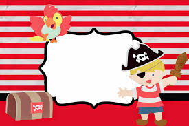 free printable invitations blondie little pirate free printable invitations is it for
