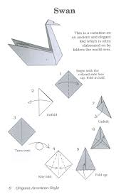 swan origami neato stuff pinterest origami swans and