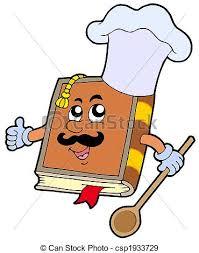 dessin recette de cuisine livre recette dessin animé illustration recette