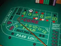 Craps Table Craps Rules How To Play