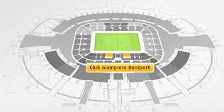 ingressi juventus stadium club boniperti juventus