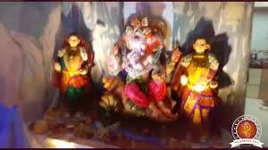 Home Ganpati Decoration Ashish Kalbhor Home Ganpati Decoration Video U0026 Ideas Www Ganpati