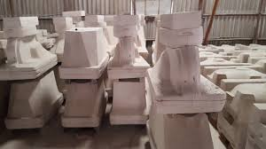 plaster of paris pottery beta gypsum for sanitary ware from