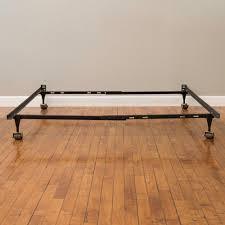 Basic Metal Bed Frame Rest Rite 14 In Queen Metal Platform Bed Frame Mfp00112bbqn The