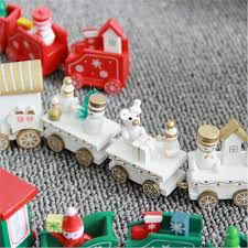 Train Decor Wooden Train Christmas Decor U2013 Super Shop Stop
