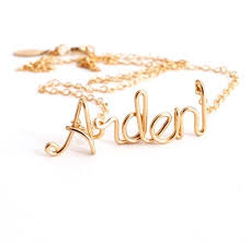 Custom Name Necklace Gold Best 25 Name Necklace Ideas On Pinterest Personalized Necklace