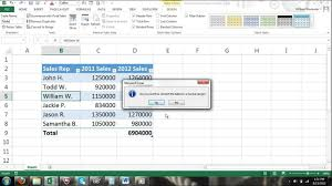 Excel For Noobs Part 40 How To Convert A Table To A Normal Range Of