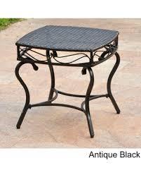 Black Resin Patio Furniture Great Deal On International Caravan Valencia Resin Wicker Outdoor