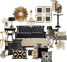 unusual design ideas black and gold living room all dining room