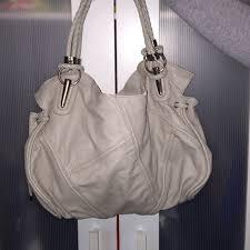 bag with light inside handbags slouchy light grey purse with many pockets inside poshmark
