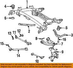 lexus ls400 parts ebay lexus toyota oem 95 00 ls400 rear suspension upper control arm