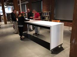 Bar Height Conference Table Standing Height Conference Table Gsa Approved Furniture 1 800