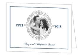 25th wedding anniversary invitations 25th anniversary invitations